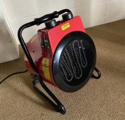 Electric Fan Heater, 3kw - Devil 7003
