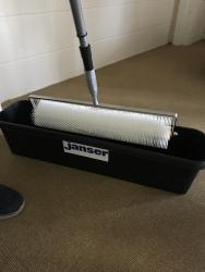 Roller Head Trough for Cleaning, 800mm
