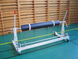 TRANSPORT & UNROLL TROLLEY UNIT