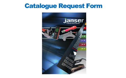 Janser Catalogue Request Form